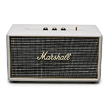Marshall 04091629 Stanmore Bluetooth Speaker, Cream