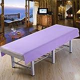 LWZY Linens Massage table sheet,waterproof sheets,spa linens,set of 2, salon sheets/body spa foot massage bedspread-C 200x115cm(79x45inch)