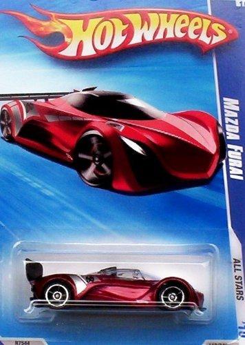 Hot Wheels 2010 Mazda Furai (Red) 119/240, '10 All Stars. 1:64 Scale. (Diecast Mazda Furai compare prices)