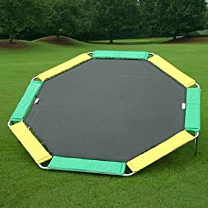 16 ft. Octagon Trampoline Pad Color: Yellow
