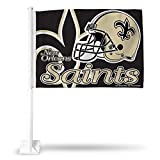NFL New Orleans Saints Car Flag