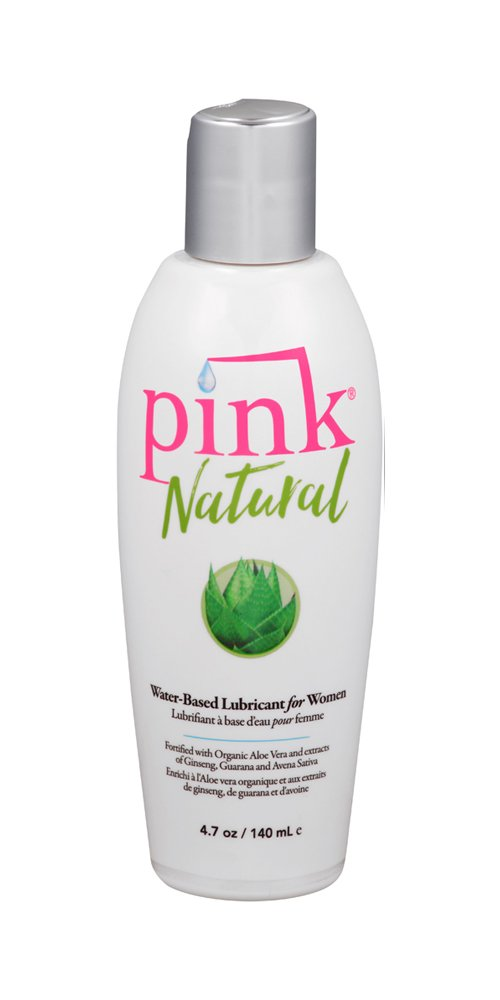 Pink Natural Sexual Lubricant, 4.7 Ounce