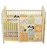 Tiny Tillia Crib Bedding Set Neutral Dog