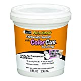 White Lightning WL0006051 COLORCUE Lightweight Spackle, White, 1/2 pint