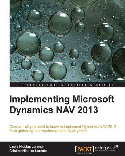 Download Implementing Microsoft Dynamics NAV 2013 Pdf