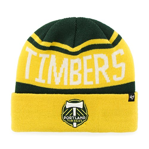 MLS Portland Timbers '47 Rift Cuff Knit Beanie, One Size, Dark - Portland Brand