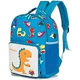 MODARANI Baby Kid's Cartoon Dinosaur Infant School Backpack for Little Boys Girls 3 4 5 6 Years (blue)