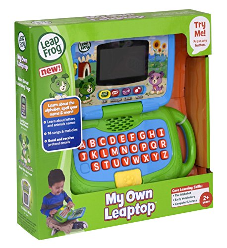 519ja38QpML - LeapFrog My Own Leaptop, Green