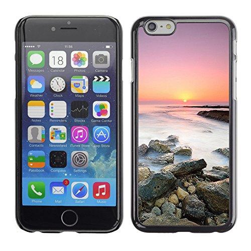 """Premio Sottile Slim Cassa Custodia Case Cover Shell // F00004043 le coucher du soleil // Apple iPhone 6 6S 6G PLUS 5.5"""""""