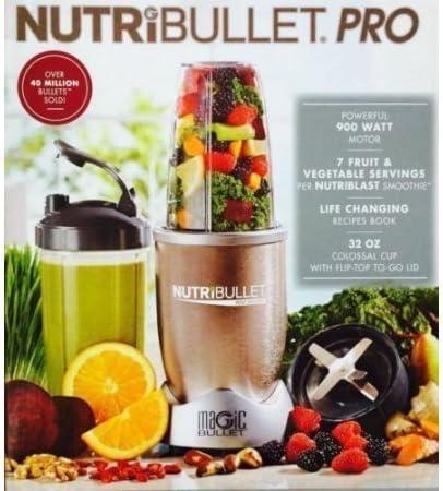 NutriBullet Pro 900 - Liquadora - [importado, instrucciones no en ...
