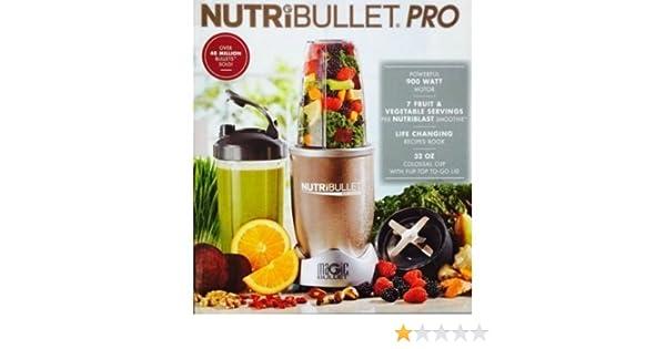 NutriBullet Pro 900 - Liquadora - [importado, instrucciones no en español]: Amazon.es: Hogar