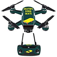 Skin for DJI Spark Mini Drone Combo - Skaters Gonna Skate| MightySkins Protective, Durable, and Unique Vinyl Decal wrap cover | Easy To Apply, Remove, and Change Styles | Made in the USA