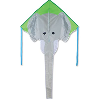 Large Easy Flyer Kite - Gray Elephant: Toys & Games