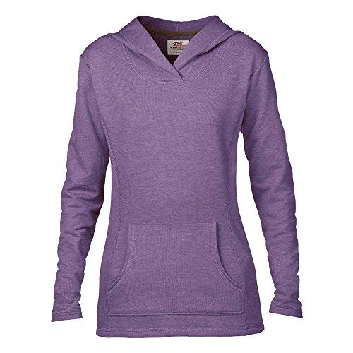 Anvil - Sudadera con capucha - para mujer morado (Heather Purple)