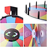 "WinSpin 18"" Tabletop Editable Color Prize Wheel 14"