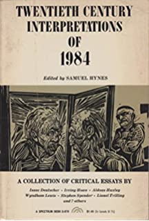 com bloom s modern critical interpretations orwell s 1984 a collection of critical essays 20th century interpretations