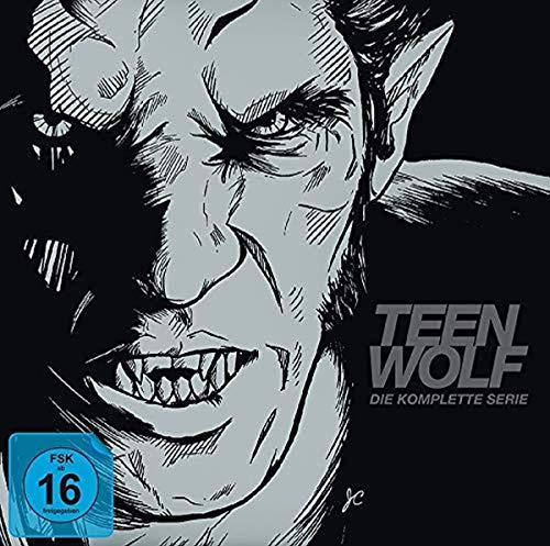 Teen Wolf - Staffel 1-6 (Komplettbox als Book-Edition) (Blu-Ray) (Teen Wolf Blu Ray)
