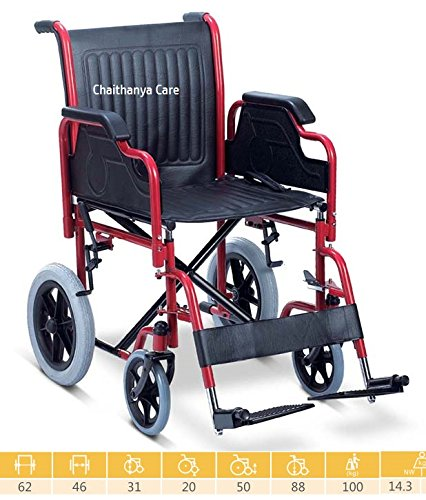 d807188b277 Buy FC Folding Wheelchair - Detachable Armrest Foot rest Wheel chair Online  at Low Prices in India - Amazon.in