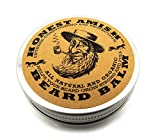 #8: Honest Amish Beard Balm Leave-in Conditioner - Made with only Natural and Organic Ingredients - 2 Ounce Tin