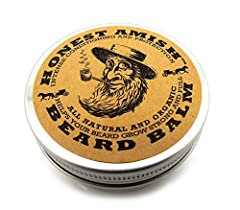 The best for your beard we guarantee it. Honest Amish Beard Balm is created from the finest organic ingredients available. We start with a proprietary blend of hair strengthening botanical infused in a base of Virgin Argan, Avocado, Almond, V...