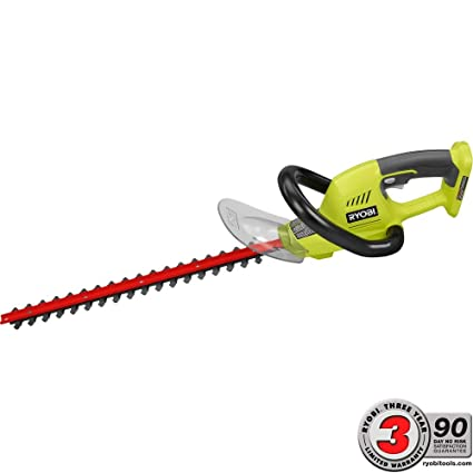 Ryobi One+ 18 in  18 Volt Cordless Hedge Trimmer without Battery and Charger