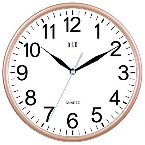 Hitoseller HITO Silent Non-ticking Wall Clock- 10 Inches ...