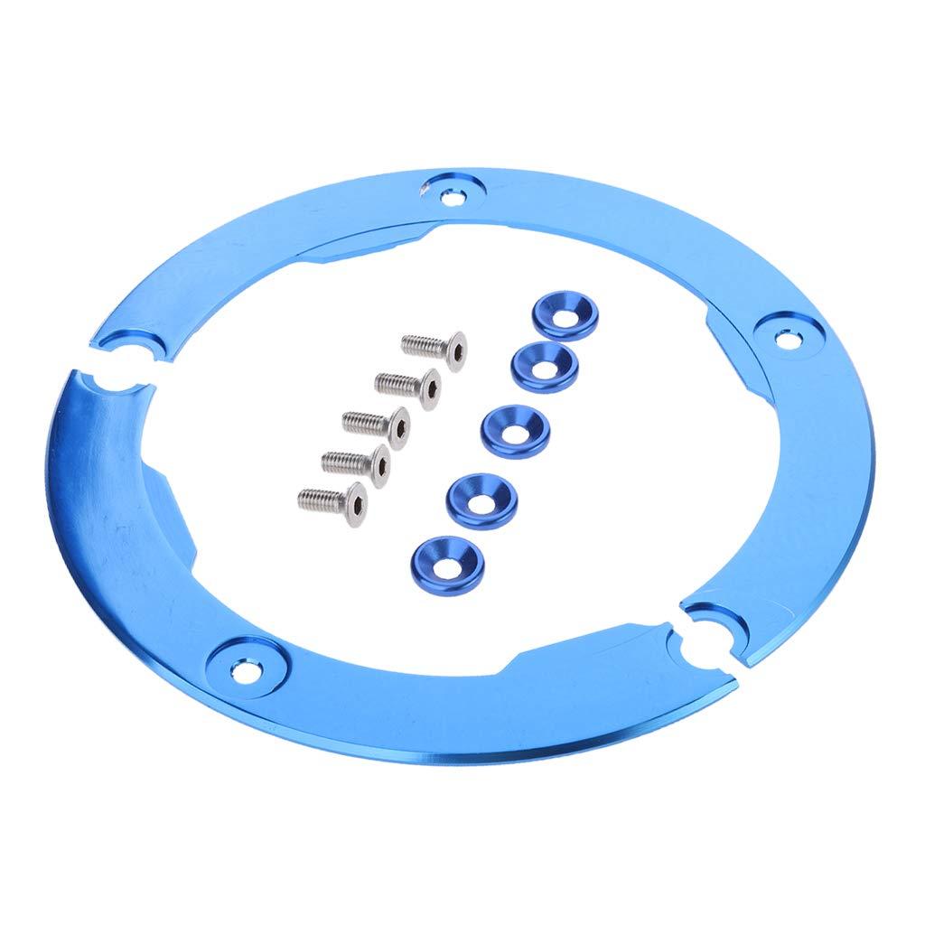 perfk Guardía tapa de Polea de Transmisión Repuesto para Yamaha Tmax530 Azul Facíl Instalar: Amazon.es: Coche y moto