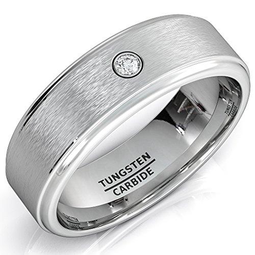 Wedding Tungsten Brushed Zircon Comfort product image