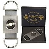 Cuban Crafters Stainless Steel Perfect Cigar Cutter