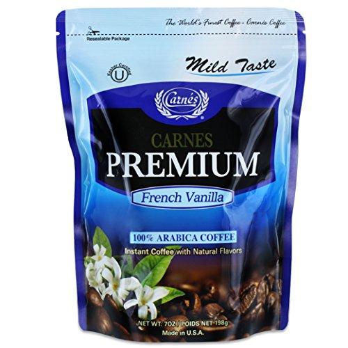 Carnes Premium Instant Coffee 100% Arabica Coffee (French