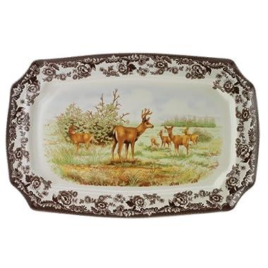 Spode Woodland Mule Deer  Rectangular Platter
