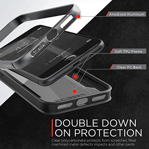 X-Doria Étui en aluminium pour iPhone 7 Plus Or