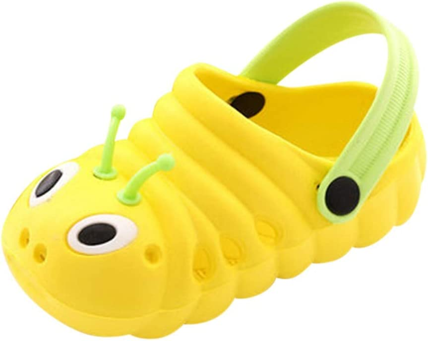 Geetobby Kids Summer Sandals Slippers Cute Cartoon Beach Shower Pool Slippers