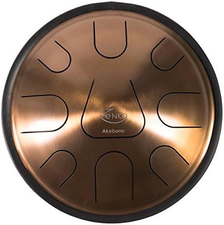 ZENKO AKEBONO - Steel Tongue Drum - 9 tones - Intuitive musical instrument