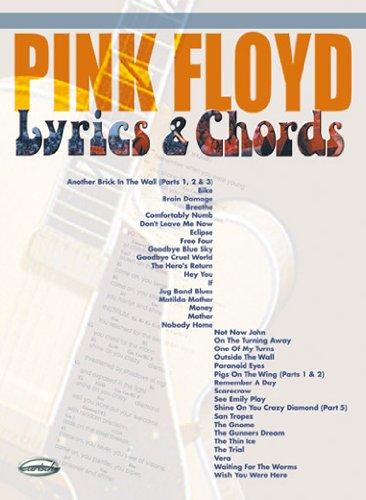 Carisch Pink Floyd Lyrics Chords Paroles Et Accords Sheet