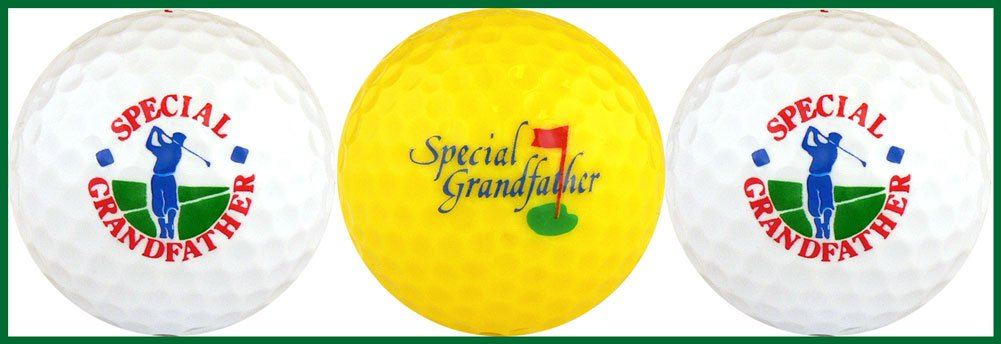 Special Grandfather Golf Ball Gift Set