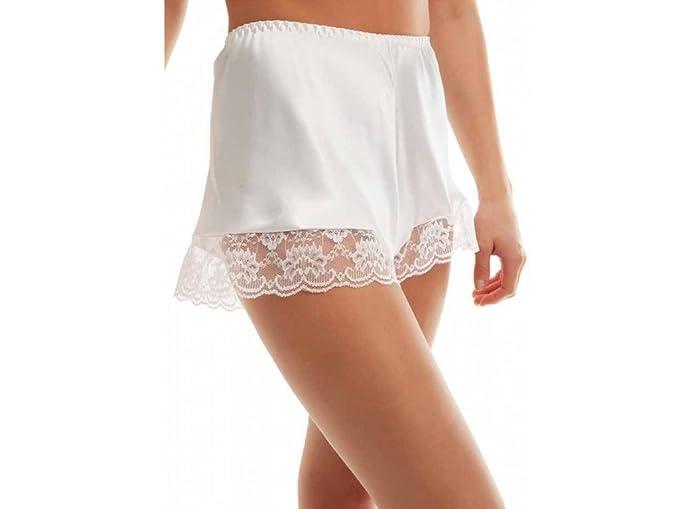 Braguitas de satén para mujer, ropa interior atractiva, sedosas de estilo francés, disponibles