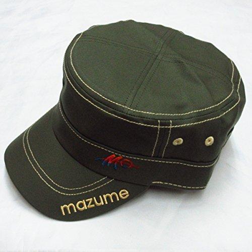 マズメ mazume ワークキャップ (アーミーグリーン) スタイリッシュの商品画像