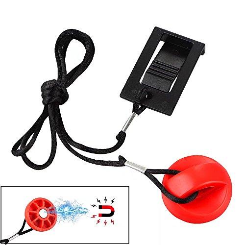 Paddsun Treadmill Universal Magnet Safety Key 208603 for Proform, Image, Weslo, Reebok, Epic, Golds Gym, Freemotion and Healthrider Treadmills