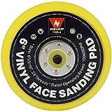 "Domeiki 6"" Vinyl Face PSA Sanding Pad Non-Dust Collector Sander Grinders DA Disc Paper"