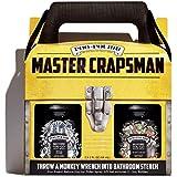 Poo-Pourri Before-you-go Toilet Spray, Master Crapsman Set Of 2, Royal Flush & Trap-a-crap Scent