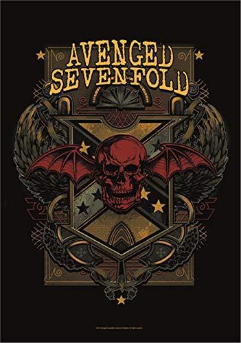 Avenged Sevenfold Textile Poster / Flag (Poster Sevenfold Flag Avenged)