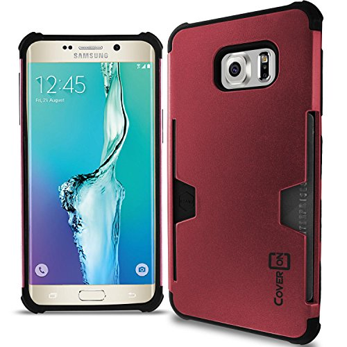 Slim Shockproof Case for Samsung Galaxy S6 Edge (Pink) - 8