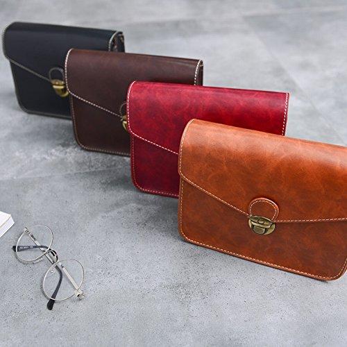 63011f996730d ... khaki Weibliche Mode Flügel Tasche Trend Umhängetasche Breite Schulter  Diagonal Handtasche