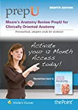 img - for Moore s Anatomy Review PrepU: for Clinically Oriented Anatomy book / textbook / text book