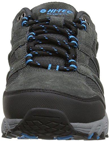 Hi-Tec Sensor Wp - Low Rise Hiking de cuero mujer gris - gris (Charcoal/negro/Prussian 052)