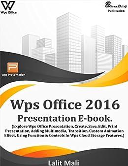 Amazon com: Wps office 2016 presentation eBook : (Explore