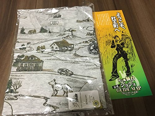 ジョジョの奇妙な冒険 Tシャツ 4部8部 ジョジョ展 チラシ付き 杜王町 限定品 特典 JOJO 東方仗助