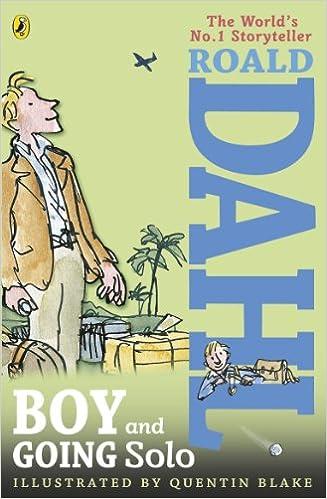 Boy And Going Solo Amazon Roald Dahl Quentin Blake Books