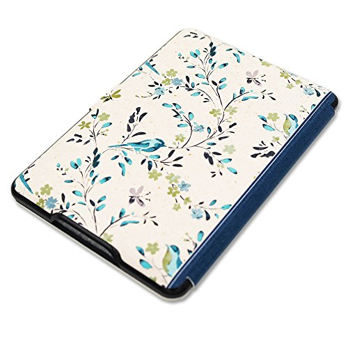 Kindle Book Missing Cover Art : Kandouren case cover for amazon kindle paperwhite blue
